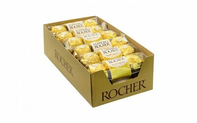 * Ferrero Rocher 3-Piece Chocolate 12 Count