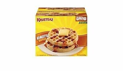 * Frozen Krusteaz-Homestyle Waffles 48 Count