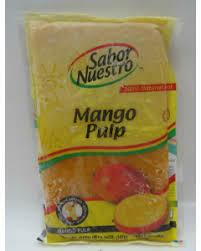 * Frozen Sabor Nuestro Mango Pulp 14 Ounces Pack