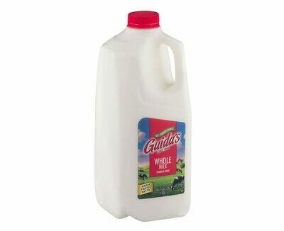* Guida's Dairy Homogenized Whole Milk 1/2 Gallon