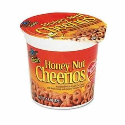 * Honey Nut Cheerios Cereal Cups 6-1.8 Ounces