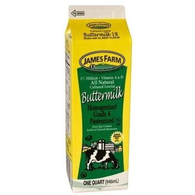 * James Farm Buttermilk 32 Ounces
