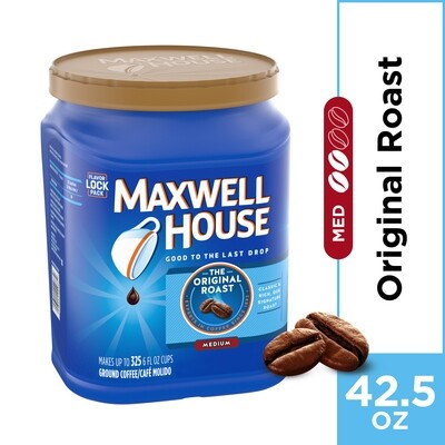 * Maxwell House Original Roast 42.5 Ounces