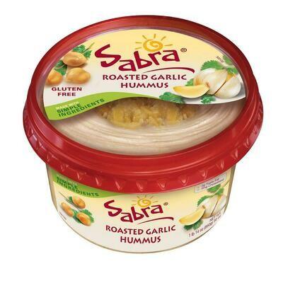 * Sabra Roasted Garlic Hummus 30 Ounces Tub