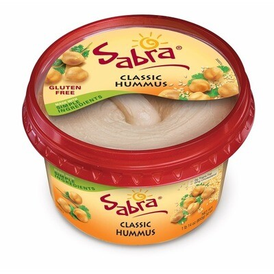 * Sabra Classic Hummus 30 Ounces Tub