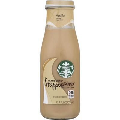 * Starbucks Frappuccino Vanilla 13.7 Ounces