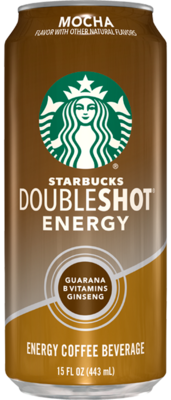 * Starbucks Doubleshot Mocha 12-15 Ounces