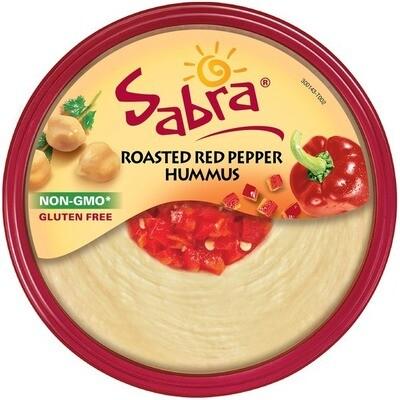 * Sabra Roasted Red Pepper Hummus 30 Ounces Tub