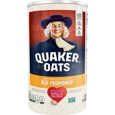 * Quaker Old Fashioned Oats 42 Ounces
