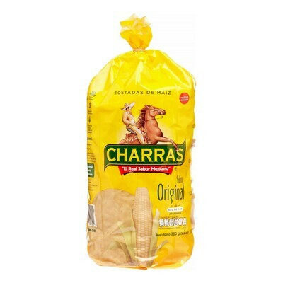 * Charras Tostadas Yellow 12.3 Ounces