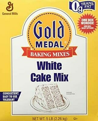 * General Mills White Cake Mix 5 Pounds