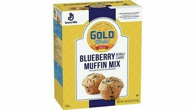 * Gold Medal Blueberry Muffin Mix 5 Pounds