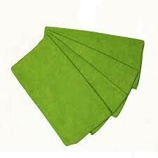 * ACA Green Microfiber Knuckle Buster Towels 12 Count
