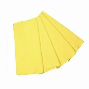* ACA Yellow Microfiber Knuckle Buster Towels 12 Count