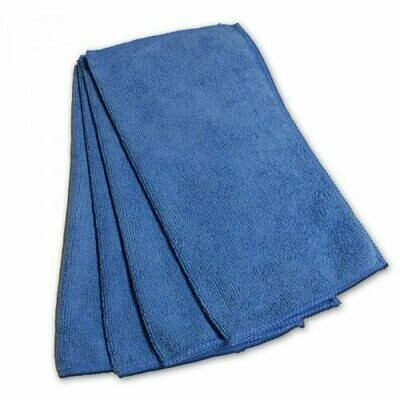 * ACA Blue Microfiber Knuckle Buster Towels 12 Count