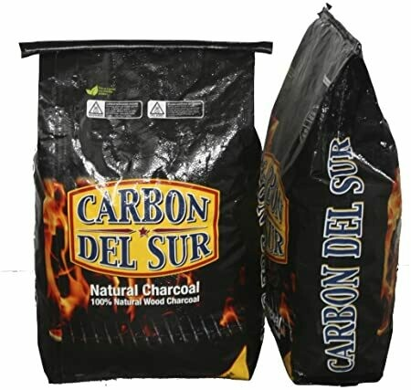 * Carbon Del Sur Natural Hardwood Lump Charcoal 18 Pounds