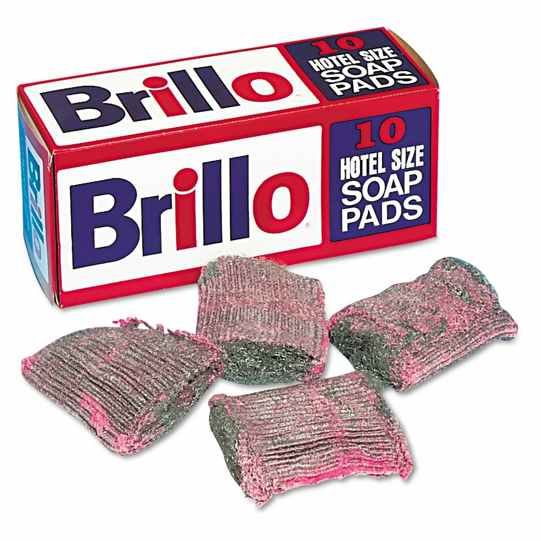 * Brillo Hotel Size Soap Pads 10 Count