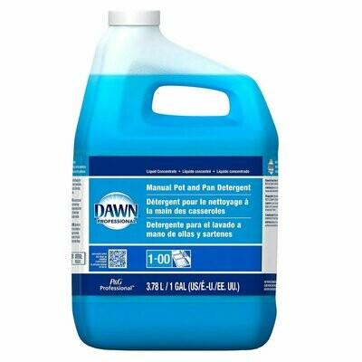 * Dawn Professional Manual Pot & Pan Dishwashing Liquid Gallon