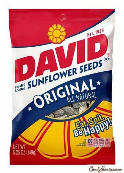 * David's Original Sunflower Seeds 5.25 Ounces
