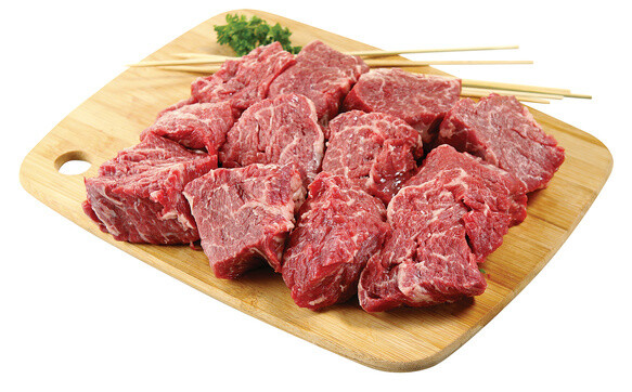* Beef Top Sirloin Tips, Usda Select Or Higher, Per Pound