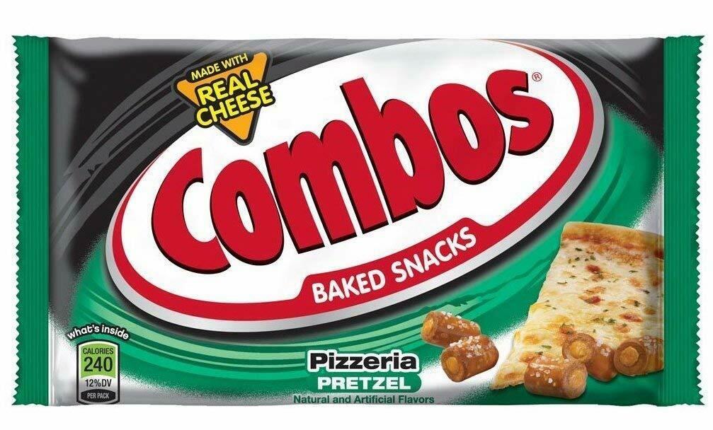 * Combos Pizza Pretzel Snack 18 Count