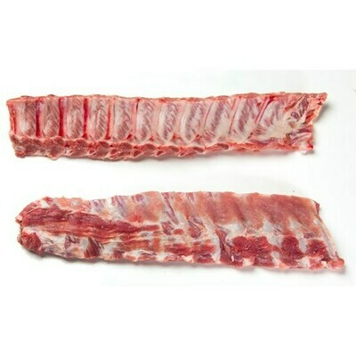* Frozen Pork Baby Back Ribs, 2.25 And Up, Avg Unit 10 Pounds