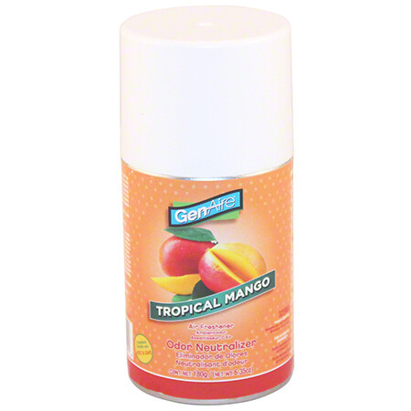 * Genaire Tropical Mango Air Freshener Refill 4 Pack