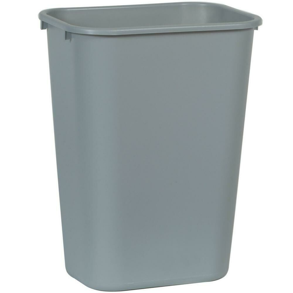 * Gray Wastebasket 41 Quarts