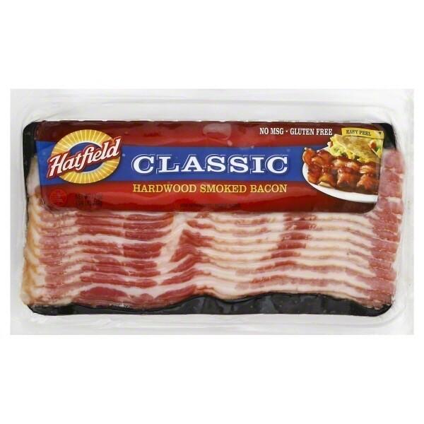 * Hatfield Bacon Slices 1 Pound