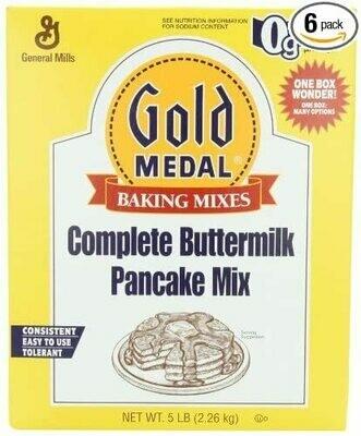 * Gold Medal Buttermilk Pancake Mix 5 Pounds