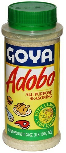 * Goya Adobo With Comino 28 Ounces