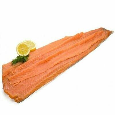 * Macknight Pre-Sliced, Skinless Smoked Salmon Per Pound