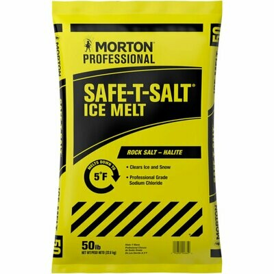 * Morton Professional Safet-Salt Ice Melt 50 Pounds