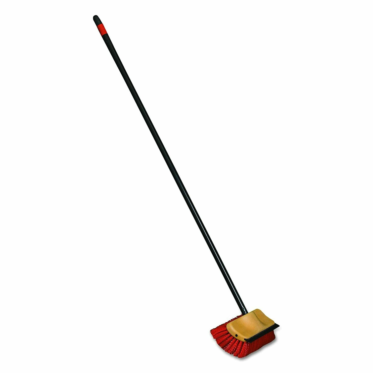 * O-Cedar Bi-Level Floor Scrub W-Squeegee & Handle