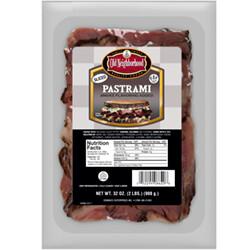 * Old Neighborhood New York Style Black Pastrami Sliced