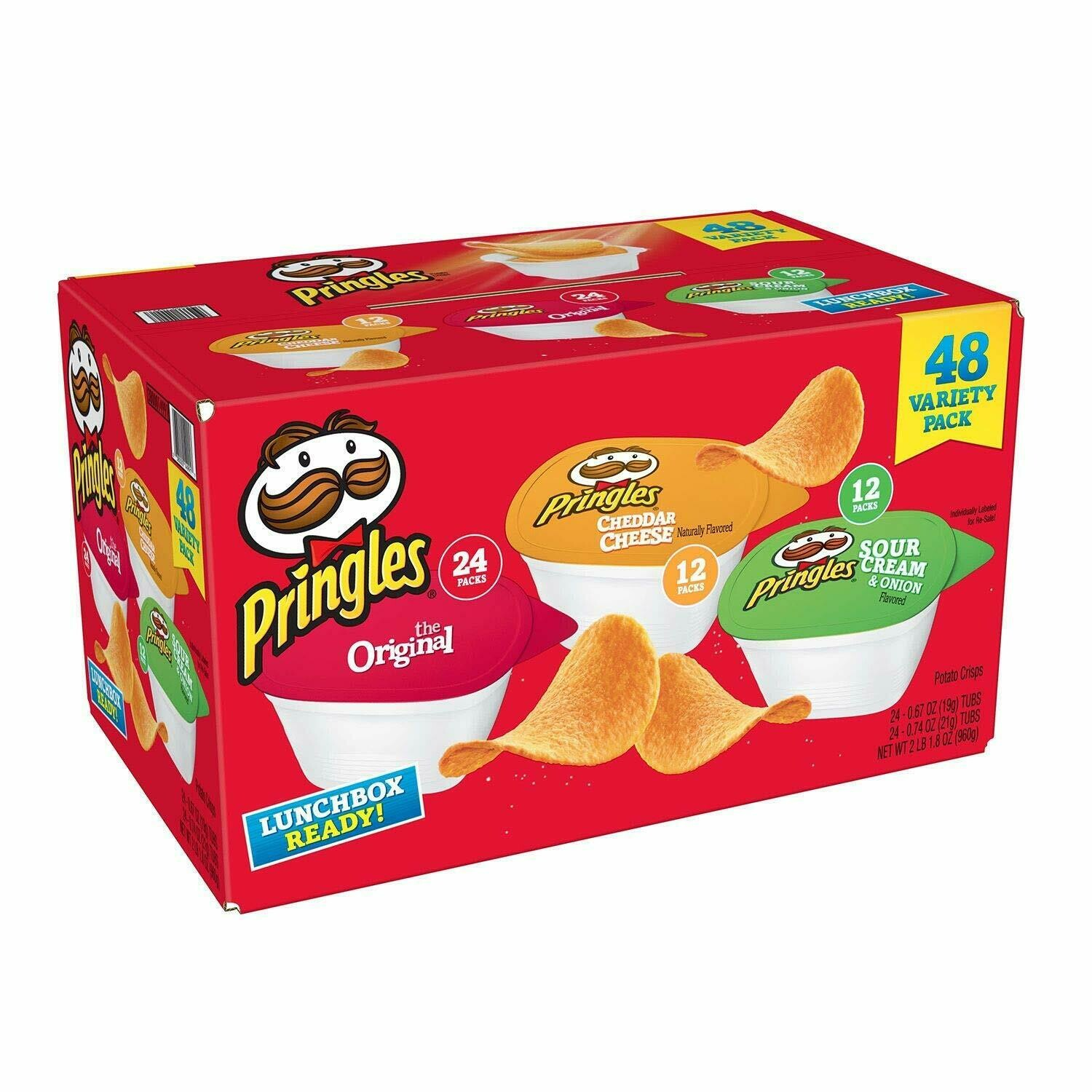 * Pringles Variety Chip Snack Pack 48 Count
