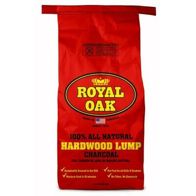 * Royal Natural Lump Charcoal 15 Pounds