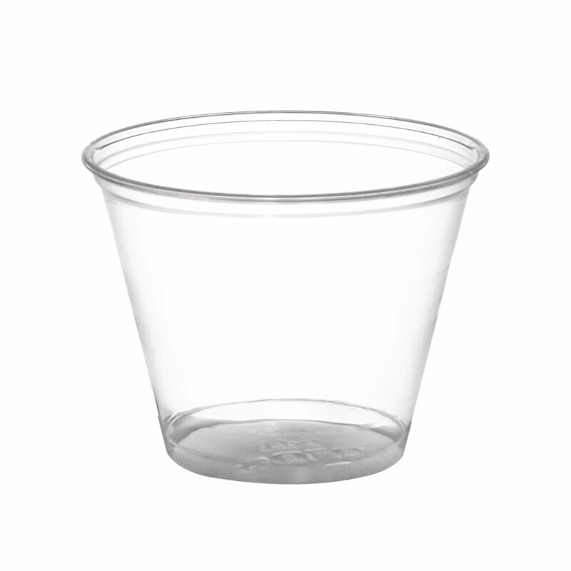 * Sunset 9 Ounces Clear Cups 50 Count