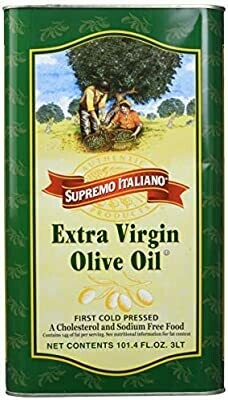 * Supremo Italiano Extra Virgin Olive Oil 17 Ounces Bottle