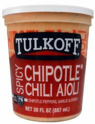 * Tulkoff Chipotle Chili Aioli 18 Ounces