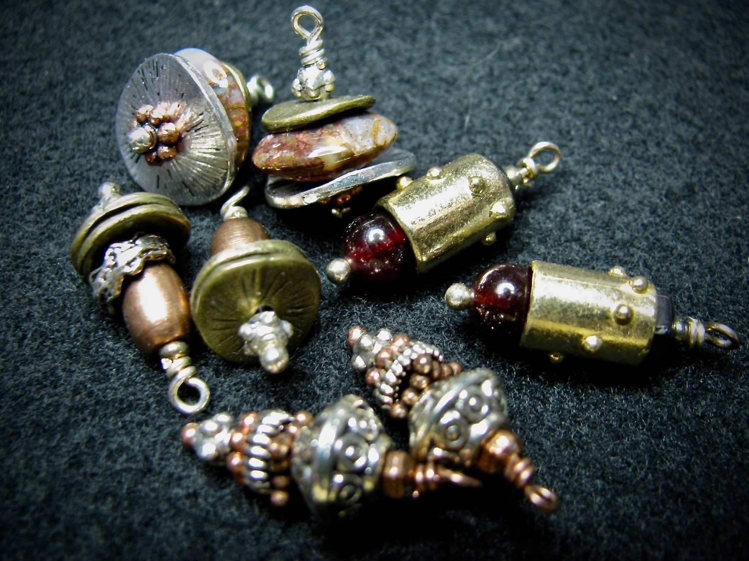 Mixed Metal Beads