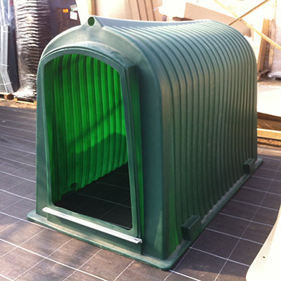 Schuilhok  Large groen