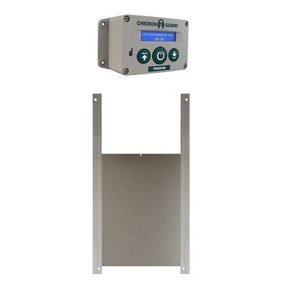 Chickenguard  Premium batterij SET MET SCHUIF 20 x 25 cm