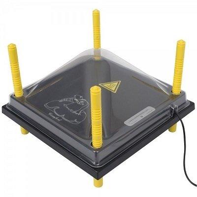afdekkap warmteplaat L - 40 cm x 40 cm