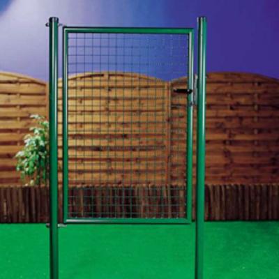 Metalen tuinpoort groen 1 m x 1.50 m H