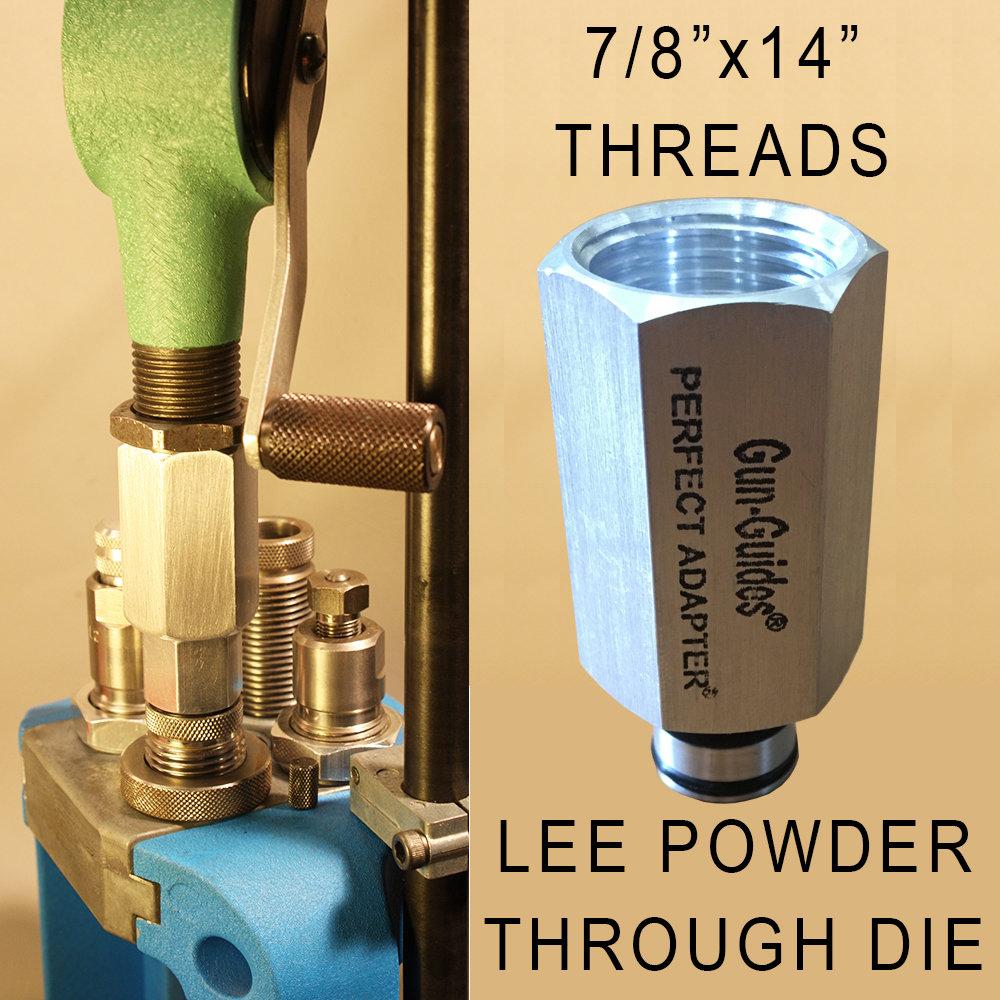UNIVERSAL Perfect Powder Measure Adapter™ for Handguns by Gun-Guides®