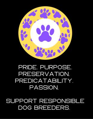 Responsible Breeder T-Shirt (Domestic Shipping)
