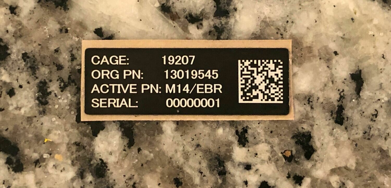 "M14/EBR 1.5""x.5"""