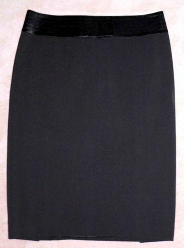 Laundry By Shelli Segal Black Lined Tuxedo Skirt (Size 2) *Reduced*