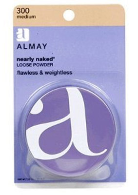 Almay Nearly Naked Loose Powder For Face #300 Medium 1 oz